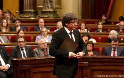 EL (MAL) TRAGO DEL PRESIDENT PUIGDEMONT